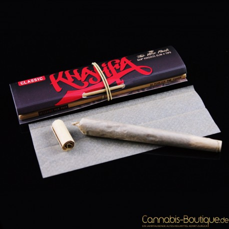 RAW KingSize Slim Classic mit Tips Connoisseur Wiz Khalifa Edition
