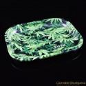 Bröselschale Black Leaf Marihuana klein
