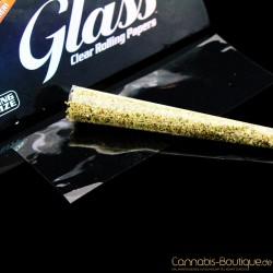 Glasklare Paper King Size 100% Pflanzen Zellulose BIO von Luxe Glass