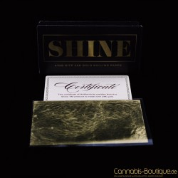24 Karat Gold King Size Paper von Shine