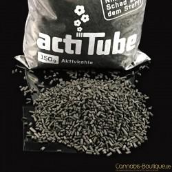 Aktivkohle 150 Gramm lose von actiTube für Bong Adapter