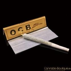 OCB Slim Premium Oro Paper King Size Gold