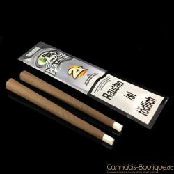 """Aromatisiertes Zigarrenpapier """"Blunt"""" Silver von Platinum Wraps"""