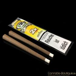 """Aromatisiertes Zigarrenpapier """"Blunt"""" Yellow von Platinum Wraps"""
