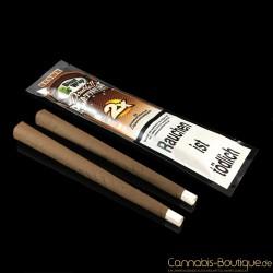 """Aromatisiertes Zigarrenpapier """"Blunt"""" Brown von Platinum Wraps"""