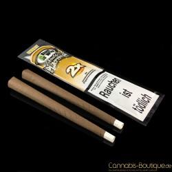 """Aromatisiertes Zigarrenpapier """"Blunt"""" Ivory von Platinum Wraps"""