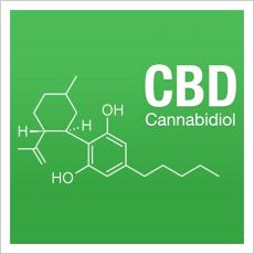 CBD-Molekül
