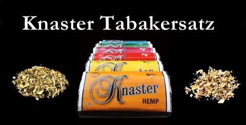 Knaster Tabakersatz
